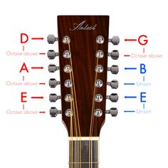 Diagram For 12 String Guitar Strings - Wiring Library Acoustic Guitar Chords, Guitar Chords Beginner, Guitar Diy, Guitar Shop, Guitar Songs, Cool Guitar, Ukulele, Fender Acoustic, Guitar Gifts