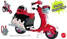 Muñeca Ghoulia Yelps con moto