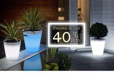 Macetas Led Plants, Plant Pots, Home Decoration, Lights, Plant, Planets