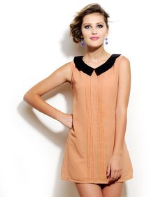 Peach Shift Dress by Corsage http://www.mydesignersales.com/designers-2/corsage/peach-shift-dress-by-corsage.html