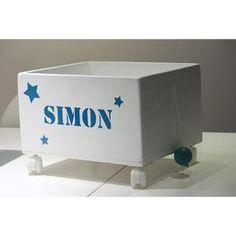 caja juguetes personalizada con estrellas en Etoile No.5 www.etoileno5.com
