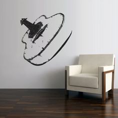 Wall Decal Vinyl Sticker Decals Acoustic Guitar by StickersForLife, Guitar Bedroom, Music Bedroom, Guitar Wall, Bedroom Themes, Bedroom Decor, Decoration, Art Decor, Home Decor, Deco Cool