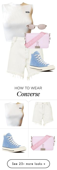 Designer Clothes, Shoes & Bags for Women Outfits With Converse, Converse Sneakers, Inspired Outfits, Classic Looks, Off White, Cool Outfits, Outfit Ideas, Pop, Girls