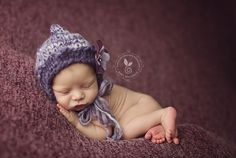 Baby Girl knit Hat knitted baby Boy hat baby by DarnFanciful