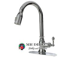 762-C Chrome Pull Down Kitchen Faucet on sale for $79