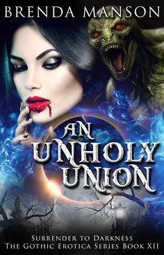 An Unholy Union - Brenda Manson Romance Book Cover