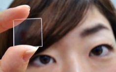 Japanese tech-giant Hitachi says it developed a way for glass to store data forever. Its prototype is a small shard made up of four layers of glass. Each layer has dots that store data. The chip itself is said to last forever.