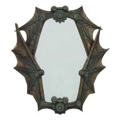 Steampunk Mechanical Wings Wall Mirror - Pacific Gifts
