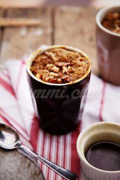 Пудинг в чашке (рецепт для микроволновки)