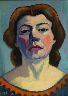 Maggie Laubser - Self-Portrait