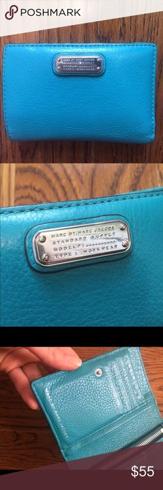 Marc Jacobs wallet Excellent condition. Textured leather. Tiny mark on a back, see last photo, barely visible. Marc Jacobs Bags Wallets