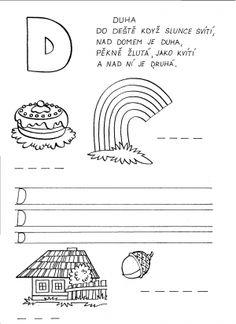 Vyvození písmene D