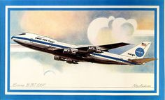Pan Am Cargo, Boeing 747 freighter, by Roy Andersen, 1977, Courtesy National Air and Space