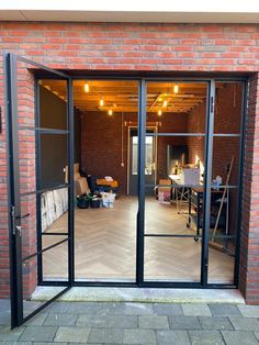Steel Doors And Windows, Garage Organisation, Chill Room, Iron Gates, House Extensions, Patio Doors, House Goals, Home Living Room, French Doors