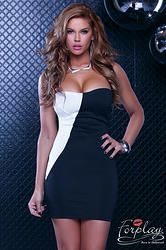 """ROBE COURTE """"VICENZA"""" BUSTIER  http://www.prod4you.com/#!collection-robes-courtes-sexy/crus"""