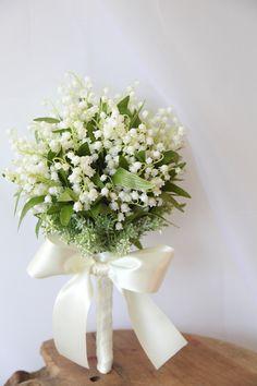 Lily of the valley/花どうらく/アートブーケ/http://www.hanadouraku.com/artbouquet/wedding/