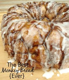 The Best Monkey Bread {Ever}. Each bite is like a soft ooey-gooey pillow. Absolutely mouth-watering and amazing.