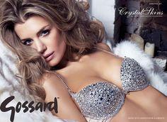 CrystalSkins' Swarovski Embellished Bra