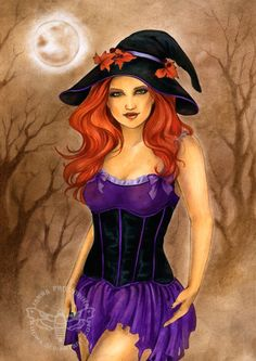 Witchy by Kuoma.deviantart.com on @deviantART