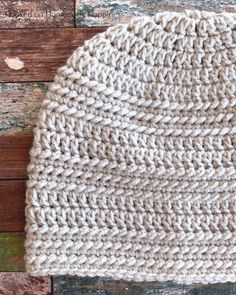 Ring Stitch Beanie Crochet Pattern (CAL for a Cause) - Hooked on Homemade Happiness Baby Beanie Crochet Pattern, Beanie Pattern Free, Crochet Beanie Hat, Crochet Flower Patterns, Baby Knitting Patterns, Crochet Hats, Hat Patterns, Crochet Clothes, Crochet Ideas