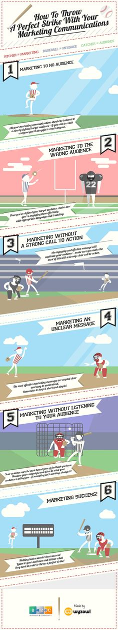startup infographic & chart 6 Reason Why Your Marketing Communications Might Fail – infographic Infographic Description How To Throw A Perfect Strike With Marketing Trends, Marketing Plan, Sales And Marketing, Marketing Digital, Business Marketing, Content Marketing, Online Marketing, Social Media Marketing, Social Business