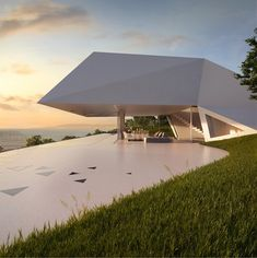 Een designwoning in de vorm van een prisma op het eiland Rhodos. Lees meer op de Luxury Estate Blog.