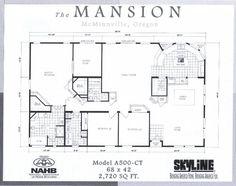 Mansion floor plan