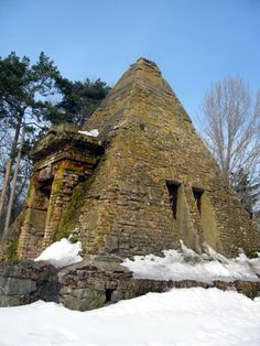 Pyramid tomb in Poltava region, Ukraine #Ukraine