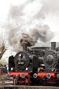 Eisenbahnmuseum in Bochum-Dahlhausen