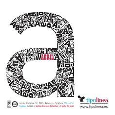 Detalle de diseño del calendario Tipolínea 2013. Realizado por nuestro equipo de diseño.