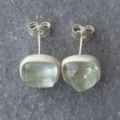 Plaza Green Earrings Green Earrings, Label, Silver, Collection, Money