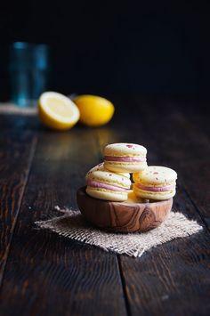 Lemon Raspberry Macaron recipe in honor of Macaron Day | Hint of Vanilla