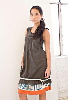 Rebe. Love her dresses.