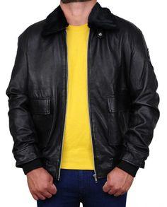 Simon Pegg Star Trek Beyond Jacket Simon Pegg, Star Trek Beyond, Black Faux Leather, Rib Knit, Bomber Jacket, Leather Jacket, Celebs, Stars, Sleeves
