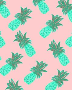 currently obsessed with pineapples.