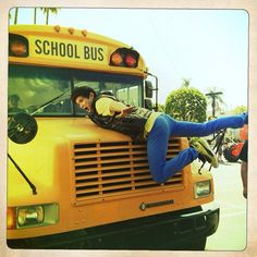 @harryshum: Bus stop.