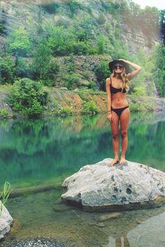 Black bikinis are my absolute favourite.