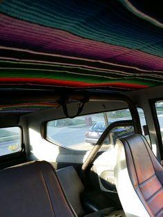 Mexican Blanket Headliner