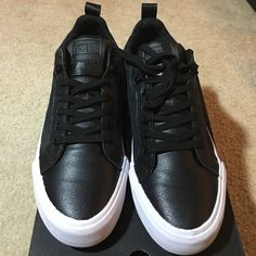 Converse. Men 8.5 women 10 brand new. Leather Converse. Men 8.5 women 10 brand new. Leather Converse Shoes Sneakers