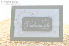Stempel-Biene: Stampin Up Stempelset Perfekter Tag #Hochzeitskarte #Glückwunschkarte #Weddingcard