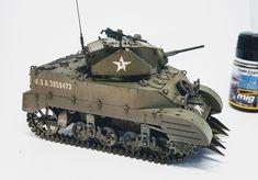 M5A1 Stuart Tamiya kit 1/35 scale