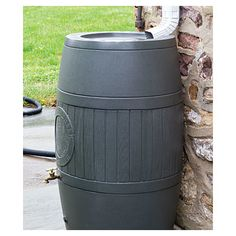 SpruceCreekRainSaver 54 Gal. Rain Barrel Color: Moss Green