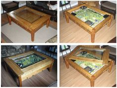 my finally finished gaming table - Gaming Tables