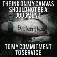 The ink on my canvas