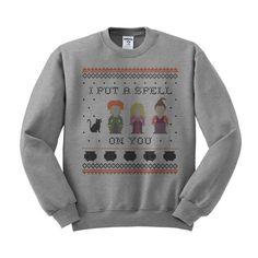 I Put a Spell on You Hocus Pocus Crewneck Sweatshirt – TeesAndTankYou
