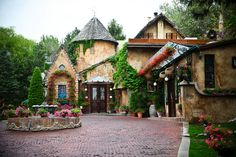 La Caille - Mobile Website A beautiful romantic restaurant serving French food Home Styles Exterior, Exterior Design, We Get Married, Salt Lake City Utah, Outdoor Ceremony, Here Comes The Bride, The Great Outdoors, Spring, Places To Go