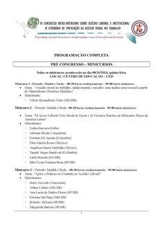 FENAPEF - Fenapef participa de Congresso sobre Assédio Moral em Santa Catarina
