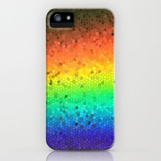 Breaking Rainbows iPhone Case