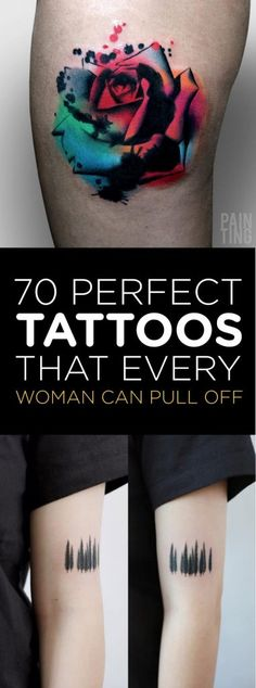 70 Perfect Tattoos That Every Woman Can Pull Off | TattooBlend