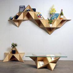 fancy shelves design